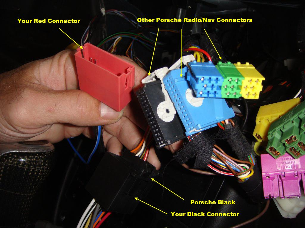 Radio Wiring for 2001 TT w/Nav - 6SpeedOnline - Porsche Forum and ...