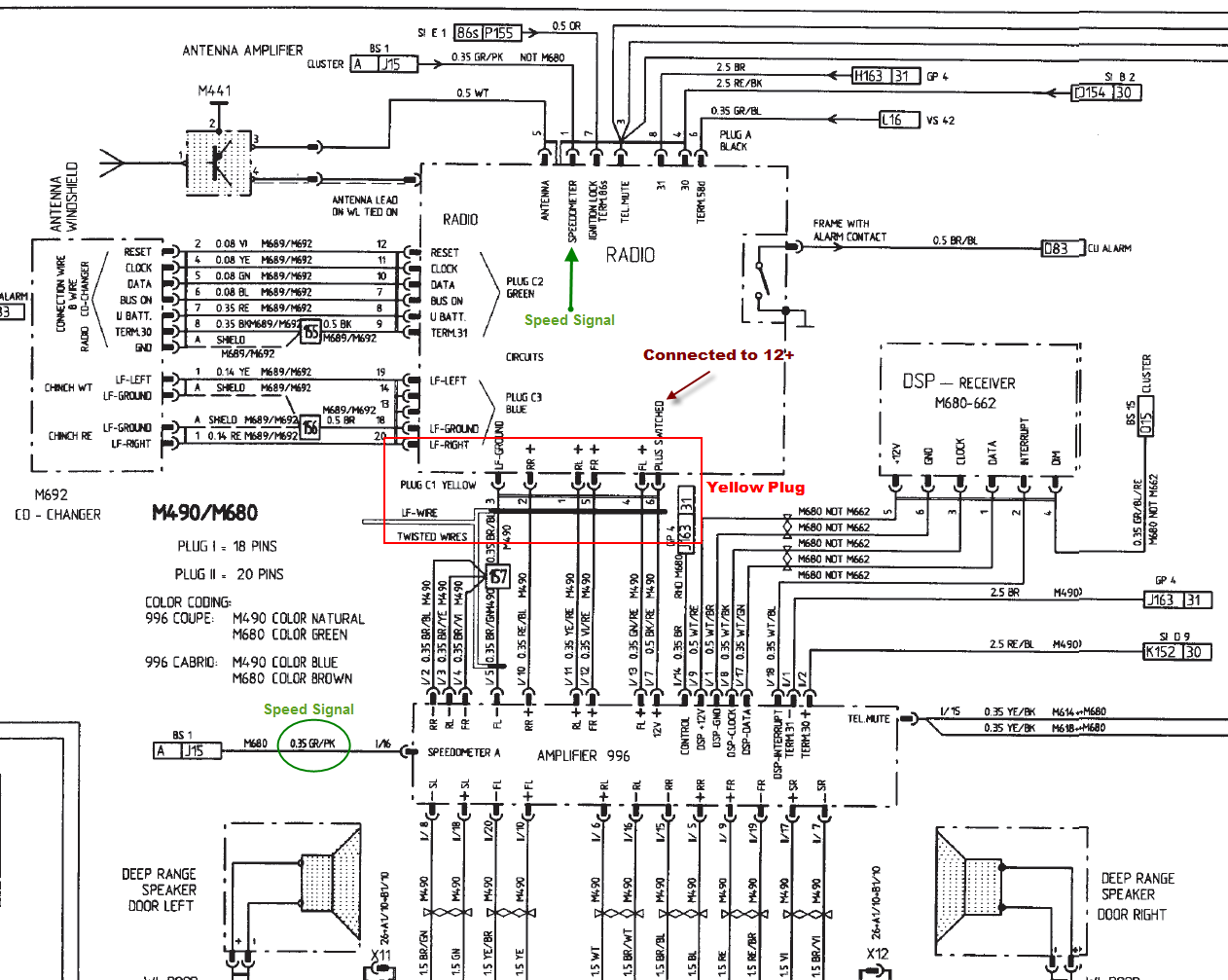 pioneer wiring harness color diagram get free image