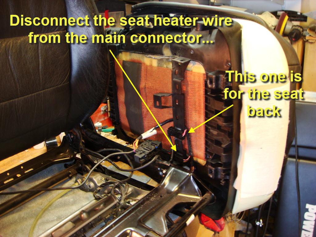 How To Repair Seat Heater Cushion - 6speedonline